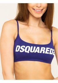 Fioletowy top Dsquared2 Underwear