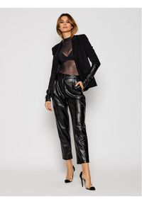 Czarne spodnie Luisa Spagnoli