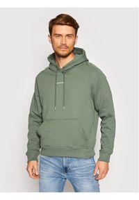Calvin Klein Jeans Bluza J30J317388 Zielony Loose Fit. Kolor: zielony