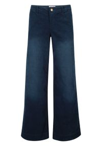 Niebieskie spodnie bonprix