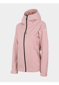 Różowa kurtka przeciwdeszczowa 4f