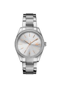 Srebrny zegarek Lacoste