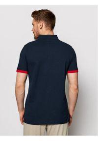 Musto Polo Amalfi 82017 Granatowy Regular Fit. Typ kołnierza: polo. Kolor: niebieski #5