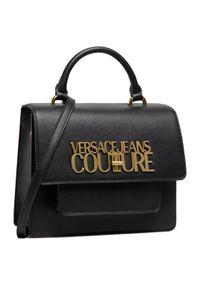 Versace Jeans Couture Torebka E1VWABL5 Czarny. Kolor: czarny