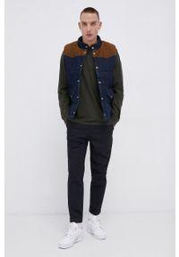 Lee - Bezrękawnik jeansowy. Okazja: na co dzień. Kolor: niebieski. Materiał: jeans. Długość rękawa: bez rękawów. Styl: casual