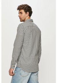 Only & Sons - Koszula. Typ kołnierza: kołnierzyk klasyczny. Kolor: biały. Materiał: tkanina. Styl: klasyczny