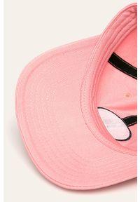Różowa czapka z daszkiem Converse gładkie