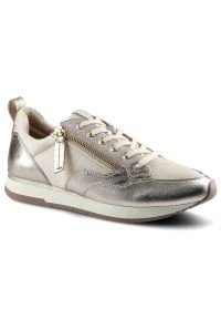Tamaris - Sneakersy TAMARIS 1-23601-24 532 Rose Met. Comb. Zapięcie: zamek. Materiał: jeans, dresówka, materiał