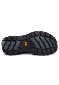 Czarne sandały CATerpillar klasyczne, na lato