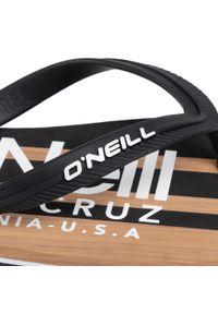 Czarne klapki na basen O'Neill na lato
