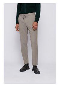Szare spodnie BOSS