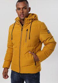 Żółta kurtka zimowa Born2be
