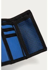 Niebieski portfel DC gładki