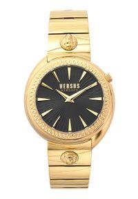 Versus Versace - Zegarek VSPHF1020. Kolor: złoty. Materiał: materiał