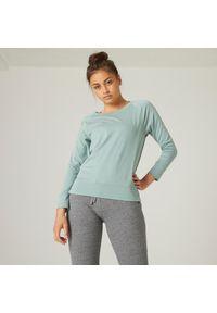 NYAMBA - Koszulka z długim rękawem damska Nyamba Gym & Pilates. Materiał: lyocell, bawełna, materiał, elastan, poliester. Długość rękawa: długi rękaw. Długość: długie. Sport: joga i pilates