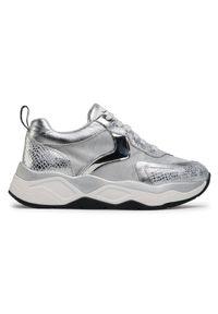 Srebrne buty sportowe Voile Blanche