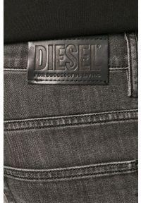 Diesel - Jeansy D-Fining. Kolor: szary