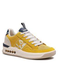 Napapijri Sneakersy Egret NP0A4FK8Y Żółty. Kolor: żółty