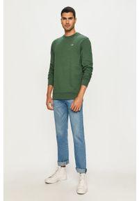 Zielona bluza nierozpinana Vans casualowa, bez kaptura, na co dzień