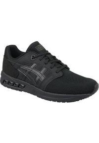 Czarne sneakersy Asics lifestyle z cholewką