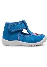 Superfit - Sandały SUPERFIT - 1-009252-8000 Blau. Kolor: niebieski. Materiał: materiał