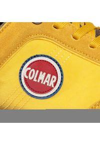 Żółte półbuty Colmar na co dzień, z cholewką