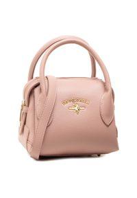 Różowa torebka klasyczna U.S. Polo Assn skórzana