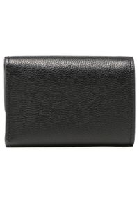 Tory Burch - Duży Portfel Damski TORY BURCH - Miller Medium Flap Wallet 79393 Black 001. Kolor: czarny. Materiał: skóra