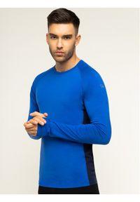 Niebieska koszulka z długim rękawem Icebreaker