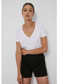 medicine - Medicine - T-shirt Basic. Kolor: biały. Materiał: bawełna, dzianina, włókno
