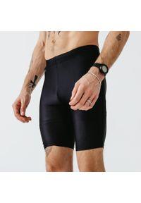 KALENJI - Legginsy do biegania krótkie męskie Kalenji Run Dry. Materiał: poliester, materiał, elastan. Sport: bieganie