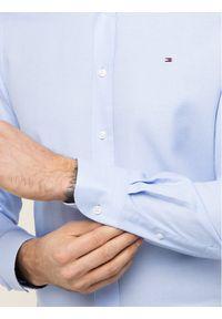 Niebieska koszula casual Tommy Hilfiger Tailored