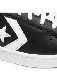 Converse Sneakersy Pro Leather Ox 167238C Czarny. Kolor: czarny