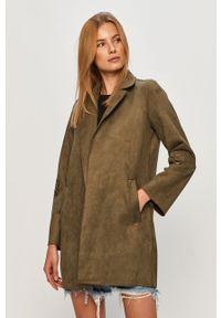 Zielony płaszcz only bez kaptura