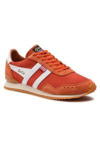 Gola Sneakersy Track Mesh 317 CMA498 Pomarańczowy. Kolor: pomarańczowy. Materiał: mesh