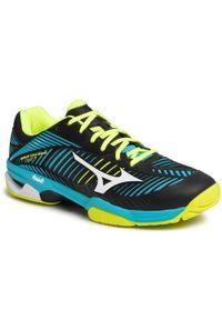 Niebieskie buty do tenisa Mizuno Mizuno Wave