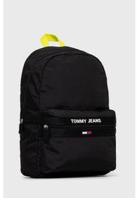 Tommy Jeans - Plecak. Kolor: czarny. Materiał: poliester. Wzór: aplikacja