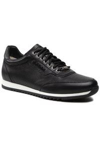 Baldinini - Sneakersy BALDININI - 197081XNAPP000000XXX Nero. Okazja: na co dzień. Kolor: czarny. Materiał: skóra. Szerokość cholewki: normalna. Wzór: aplikacja. Styl: elegancki, klasyczny, casual