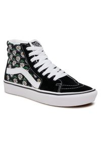 Vans - Sneakersy VANS - Comfycush Sk8-Hi VN0A3WMB49K1 (Scribble Flower) Daisyblk. Kolor: czarny. Materiał: zamsz, materiał, skóra. Szerokość cholewki: normalna. Styl: elegancki
