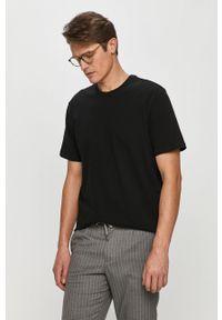 Czarny t-shirt Only & Sons