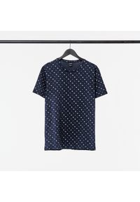 outhorn - T-shirt z nadrukiem męski. Okazja: na co dzień. Materiał: bawełna, dzianina, materiał. Wzór: nadruk. Styl: wakacyjny, casual #3