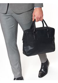 Czarna torba TOP SECRET casualowa, w kolorowe wzory