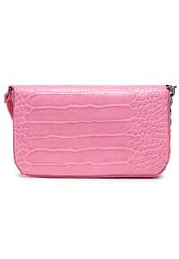 Różowa torebka klasyczna Kendall + Kylie skórzana