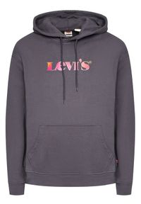 Levi's® Bluza Graphic 38479-0025 Szary Relaxed Fit. Kolor: szary