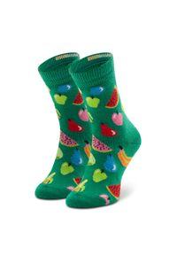 Zielone skarpetki Happy-Socks