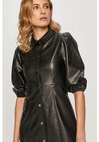 Czarna sukienka TALLY WEIJL na co dzień, prosta, mini, casualowa
