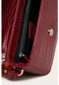MAX&Co. - Torebka. Kolor: czerwony. Rodzaj torebki: na ramię