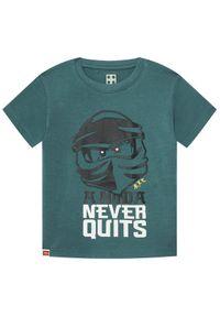 Zielony t-shirt LEGO Wear