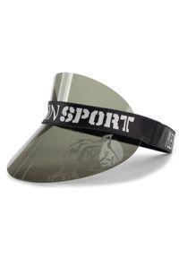 Czarna czapka Plein Sport sportowa