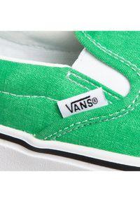 Zielone buty sportowe Vans